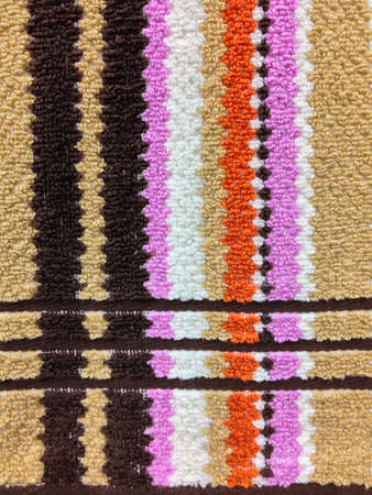 pattern style of the new doormat Stock Photo