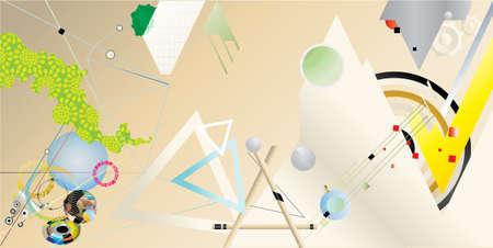 attainments: innovation abstract Illustration