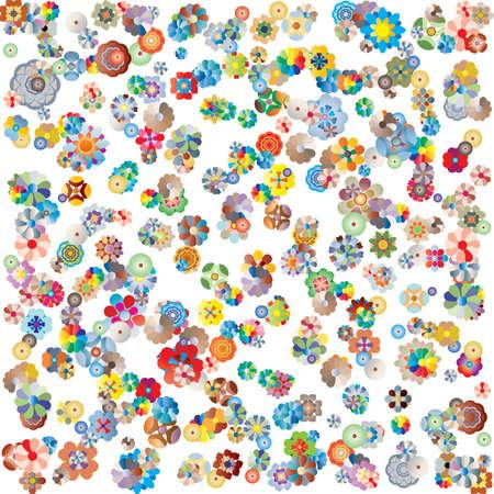 multitude: flor