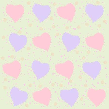 gently: Gently pastel background figure