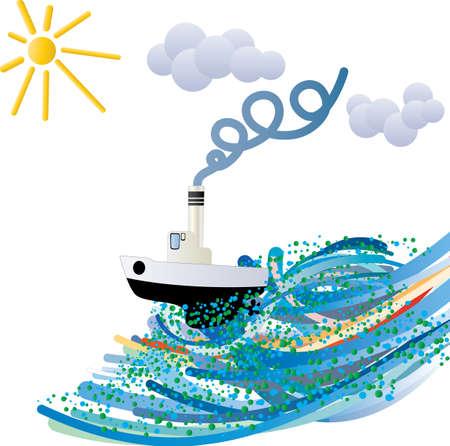 pipe dream: audaz navegante Vectores