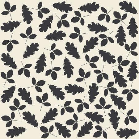 aspen: leaves of oak and aspen