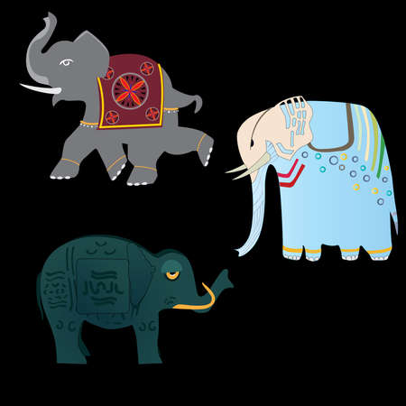rigorous: tre elefanti