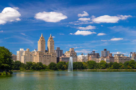 eldorado: The Eldorado luxury apartment building seen from Central Park in NYC Editorial