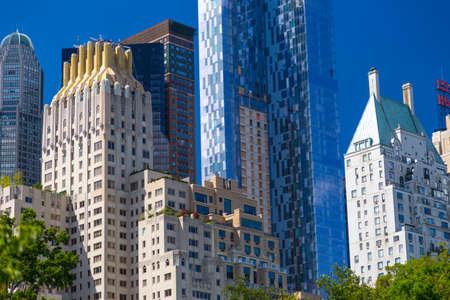 JW Marriot Essex House luxury hotel near central park in Manhattan