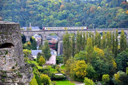 viaduct: Passerelle Bridge, also known as Luxembourg Viaduct In Luxembourg City