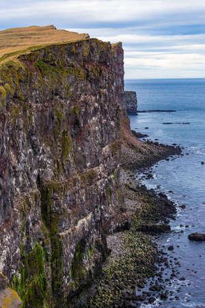 Latrabjarg cliffs in Westfjords, iceland