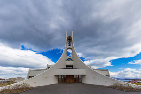 lutheran: Contemporary church in Stykkisholmur, Western Iceland