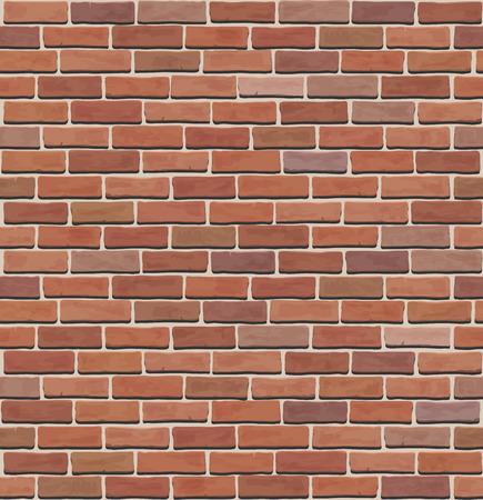 paredes de ladrillos: ladrillo inconsútil de la pared textura