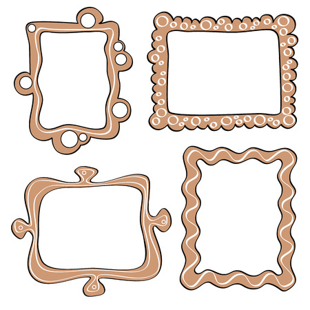funny picture: Set of funny picture frame.