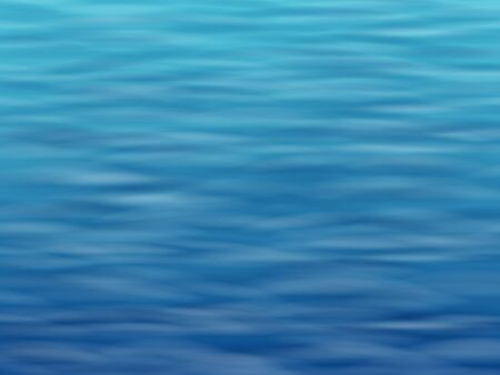 sea water: Blue water with waves. Sea or ocean surface