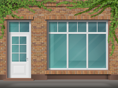 Store front icon.
