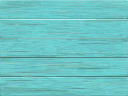 Green wooden background.