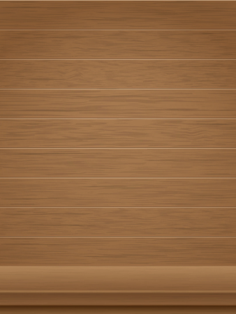 Wooden background and tabletop. Background for the exposure of the product or the subject for presentation.