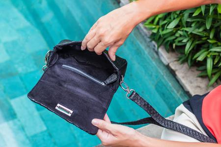 clutch bag: Bags fashion trends. Close up of gorgeous stylish snakeskin python bag. Luxury handbag closeup.