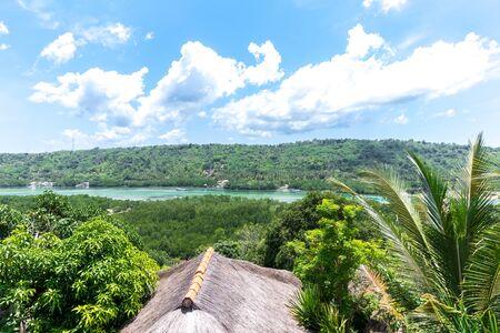 nusa: Beautiful tropical panorama on the island of Nusa Lembongan, Bali.