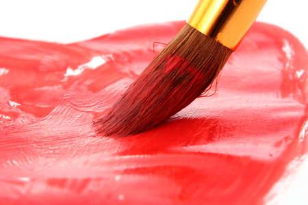 Brush drawing photo