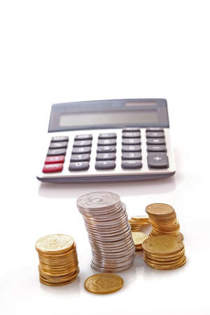 Calculation of financial growth and investment Stock Photo - 6197197