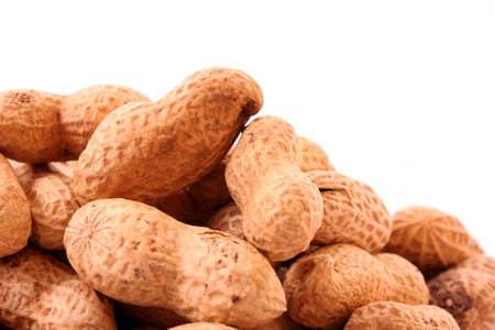 brown peanuts texture background photo