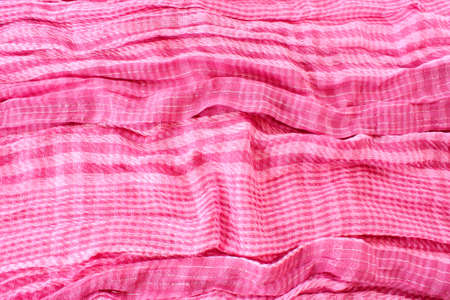 Pink textile background photo