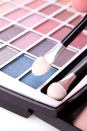 Big eye shadow kit and applicators Stock Photo - 6443014