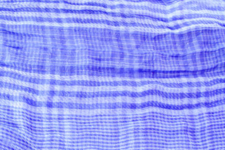 Blue textile background photo