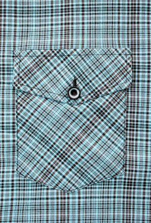 Pocket of mens  color shirt photo