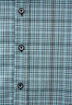 Collar of mens  color shirt photo