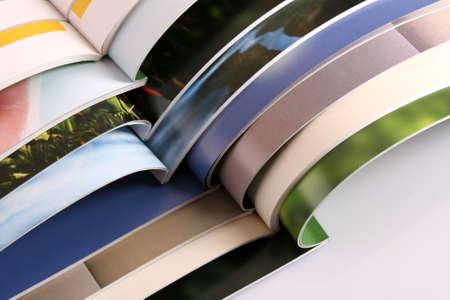 Many color magazines Stock Photo - 7029540