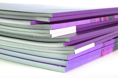 Many color magazines photo