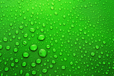 Water Drops background with big and small drops Stock Photo - 7185908