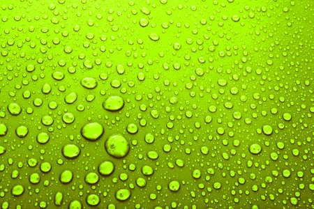 Water Drops background with big and small drops Stock Photo - 7185910