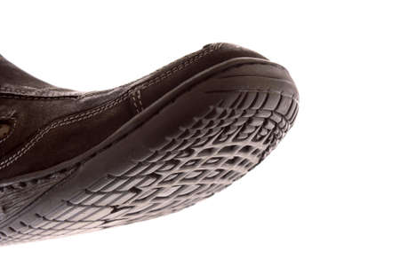 Bottom of shoes, isolated on white background photo