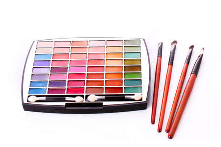 Big eye shadow kit and brushes photo