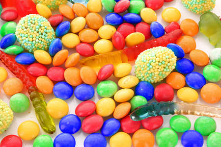 colorful candy photo