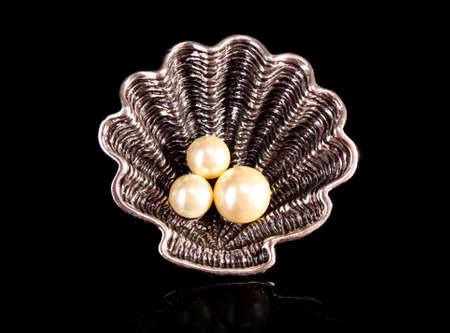 Ring with Pearls Stock Photo - 8548385