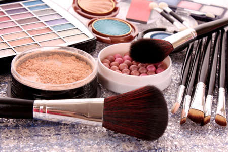 blush: cosmetics Stock Photo