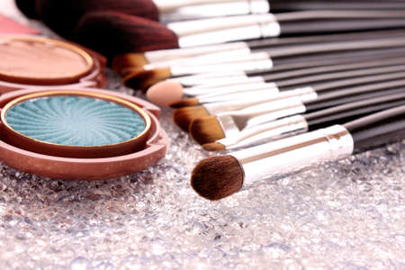 cosmetic brushes photo