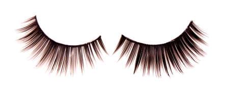 False lashes, isolated on white Stock Photo - 8983192
