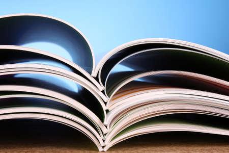 Color magazines photo