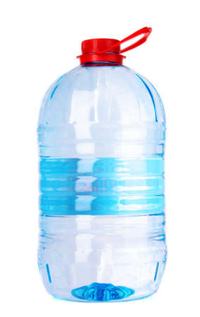 Big bottle of water isolated on a white background photo