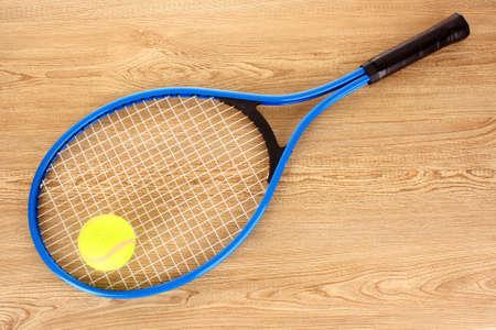 Tennis equipment photo