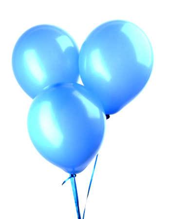 Fliegender Ballons, isoliert auf weiss