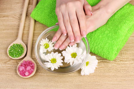 hands and spa photo