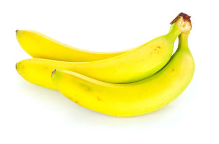 bannana: bananas  on white background