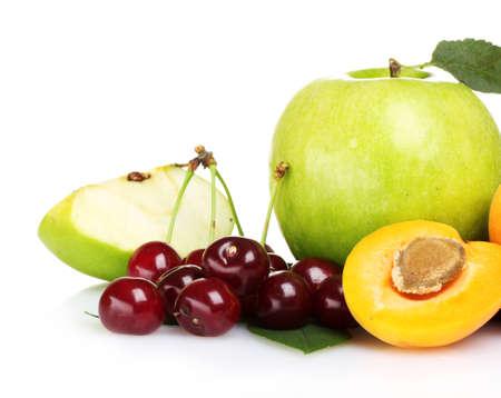 tasty summer fruits isolated on white Stock Photo - 10118959