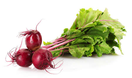 beets: Beetroot isolated on white