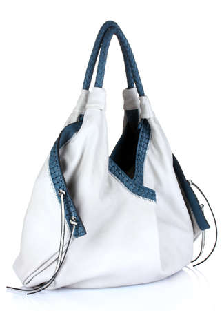 beautiful woman's bag isolated on white Stock Photo - 10295513