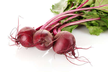 beet: Beetroot isolated on white