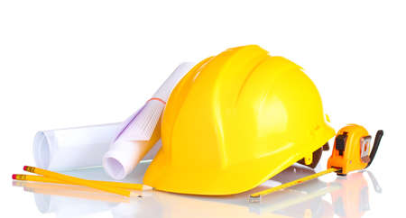 herramientas de construccion: Herramientas de construcción aislado en blanco